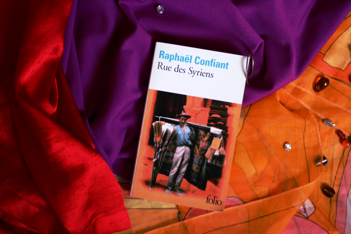 """couverture du livre """"Tue des syriens"""" de Raphaël Confiant"""